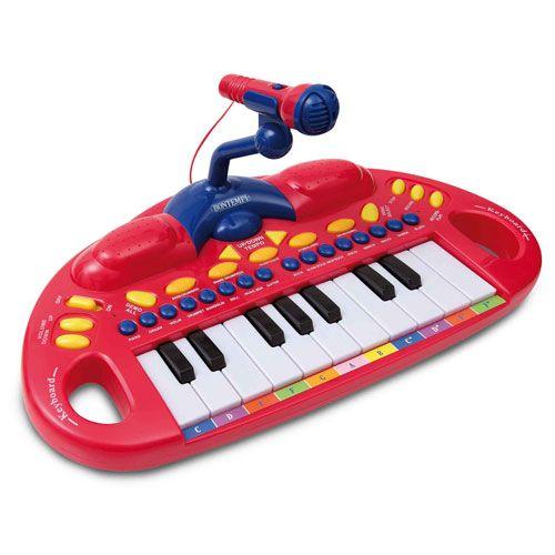 Bontempi Elektronické klávesy s mikrofonem