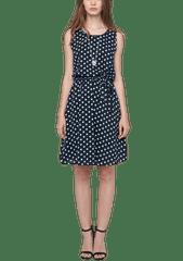 s.Oliver puntíkované dámské šaty