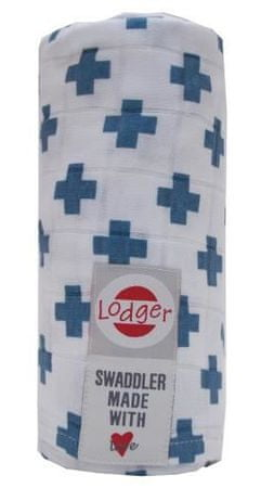 Lodger Multifunkční osuška Swaddler, Stone