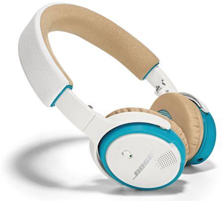 Bose brezžične slušalke SoundLink on-ear, bele