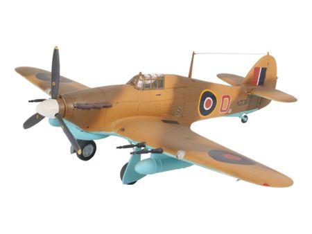REVELL ModelSet lietadlo 64144 – Hawker Hurricane Mk. IIC (1:72)