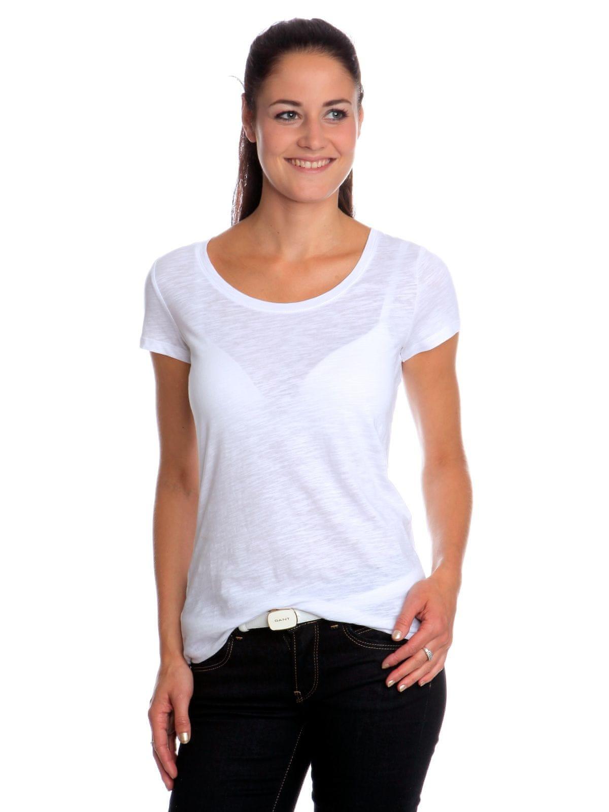 s.Oliver T-shirt damski 40 biały