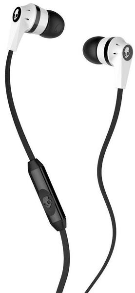 Skullcandy INKD 2.0 s mikrofonem, bílá/černá