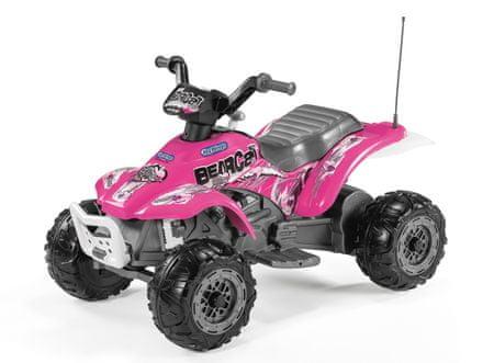 Peg Perego baterijsko vozilo Corral Bearcat Pink 6V