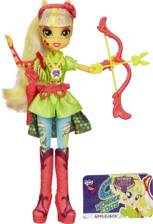 My Little Pony Equestria Girls Applejack baba