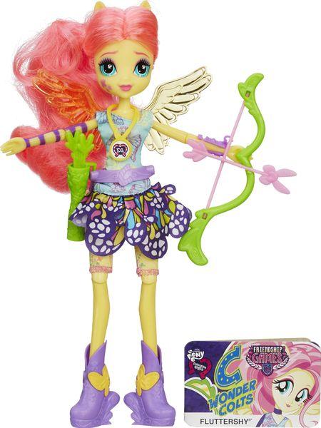 My Little Pony Equestria Girls Wondercolts sportovní panenka Fluttershy