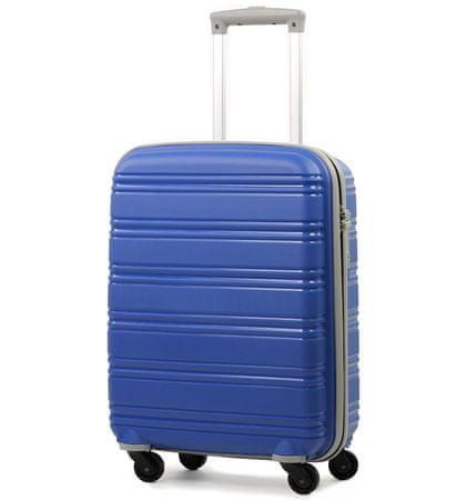 REAbags Cestovný kuforROCK TR-0125/3-50 PP modrá