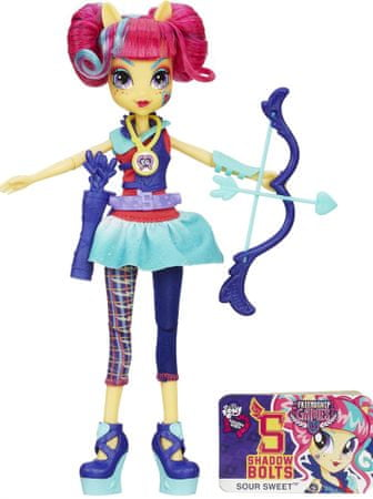 My Little Pony Equestria Girls Shadowbolts športová bábika Sour Sweet