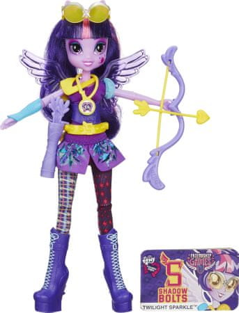 My Little Pony Equestria Girls Shadowbolts športová bábika Twilight Sparkle