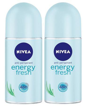 Nivea deodorant Energy Fresh, 2 x 50 ml