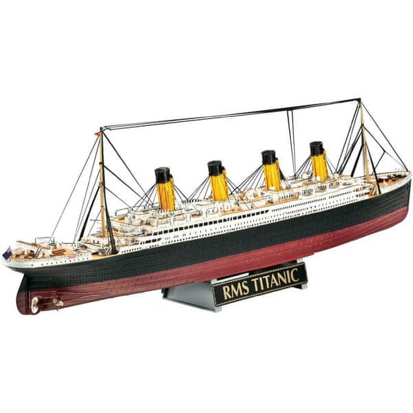 Revell Gift-Set 05715 - R.M.S. Titanic - 100th anniversary edition