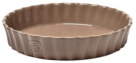 Emile Henry pekač za pito, 28 cm, rjava