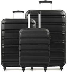 REAbags Cestovné kufre sada ROCK TR-0125/3 PP