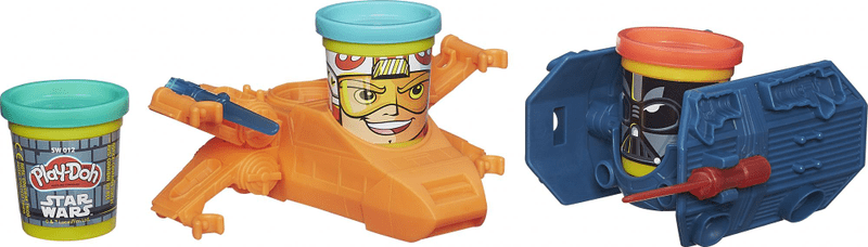 Play-Doh SW vozidla Luke Skywalker a Darth Vader