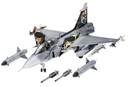REVELL 04999 ModelKit Saab JAS 39C Gripen Modell, 1:72
