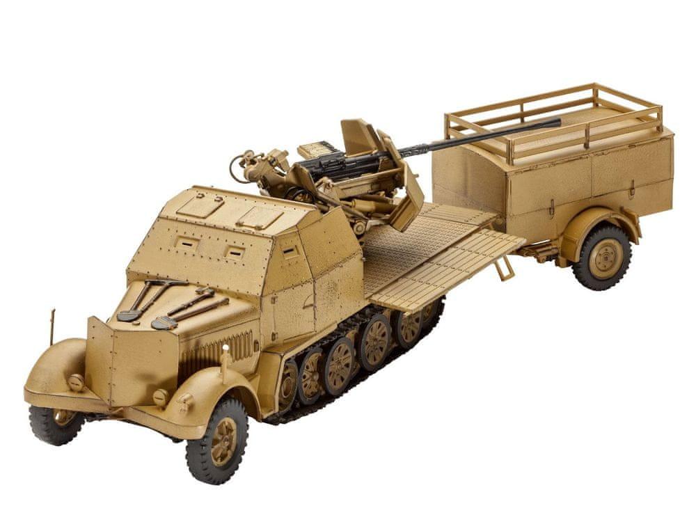 Revell ModelKit military 03207 - Sd.Kfz. 7/2 (1:72)