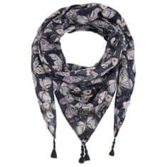 Pepe Jeans dámský tmavě modrý šátek Font