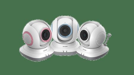 D-LINK Niania elektroniczna z obrotową kamerą EyeOn Baby HD DCS-855L - II jakość