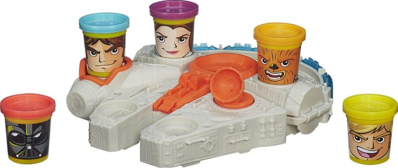 Play-Doh SW Millenium Falcon