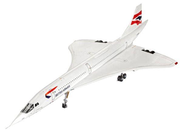 Revell ModelKit letadlo 04997 - Concorde British Airways (1:72)