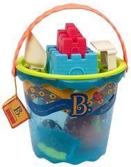 B.toys Velká sada hraček na písek v kyblíku 9 ks