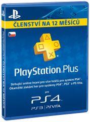 Sony PlayStation Plus Cards 365 dní (CZE)