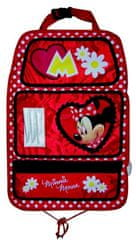 Disney Chránič sedadla s kapsami Minnie Mouse