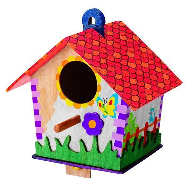 Mac Toys Výroba ptačí budky