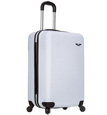 Sirocco T-1039/3-50 ABS Bőrönd, Fehér