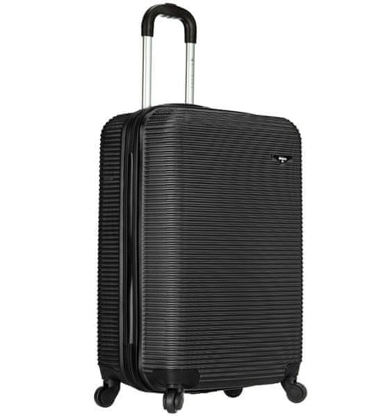 Sirocco Cestovní kufr 1039/3-50 ABS černá