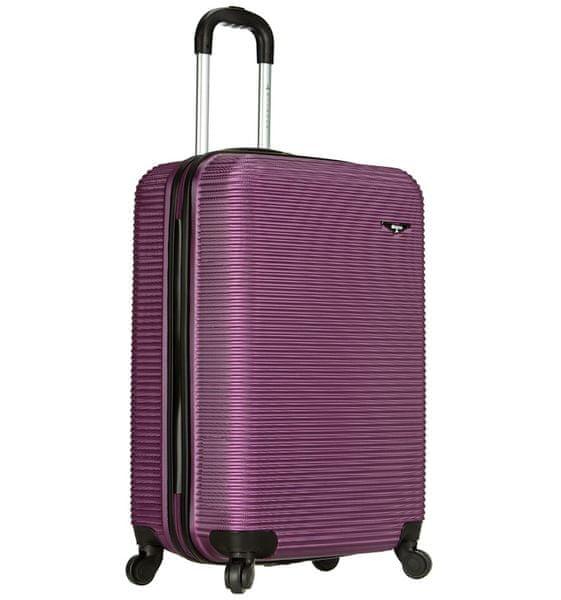 Sirocco Cestovní kufr 1039/3-50 ABS fialová