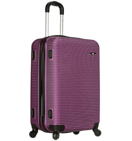 Sirocco Cestovní kufr T-1039/3-60 ABS fialová