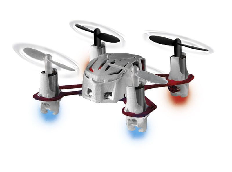 "Revell Vrtulník 23970 - Mini Quadrocopter ""Nano Quad"" (white/red)"