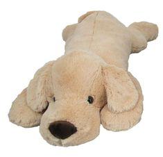 Mac Toys Plyšový psík 90 cm, béžový