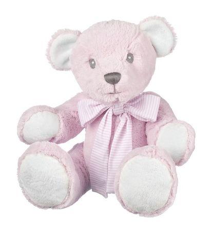Suki Baby Hug-a-Boo medo, roza - 30 cm