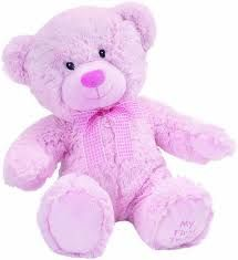 Suki Baby Hug-a-Boo medo, roza - jumbo