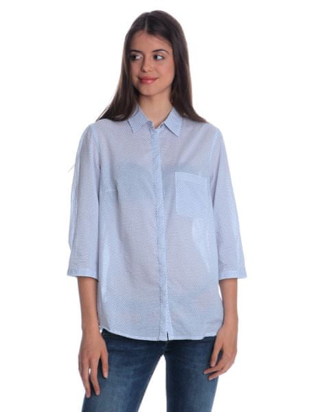 s.Oliver dámská košile s límečkem 34 bílá 38254f4b5f