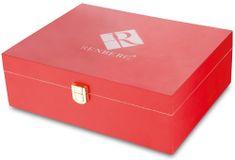 BERGNER Čajová krabice červená