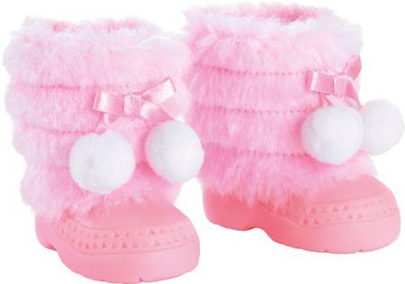 Bayer Design roza zimski čevlji za punčko