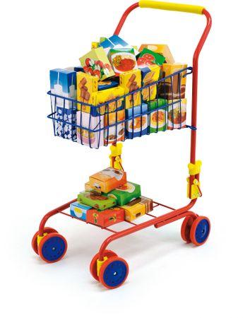 Bayer Design nakupovalni voziček z izdelki, rumen