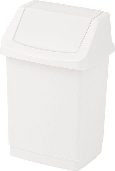 Curver Odpadkový koš Click 50 l bílý