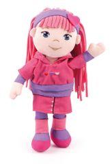 Bayer Design Handrová bábika 30 cm, ružová
