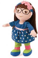 Bayer Design Handrová bábika 30 cm, modré šaty