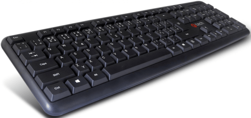 C-Tech KB-102 USB slim black, CZ/SK (KB-102-U-BL)