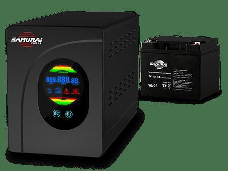 Samurai Power rezervno napajanje za ogrevalne sisteme HEAT PSU-500 + 40 Ah baterija