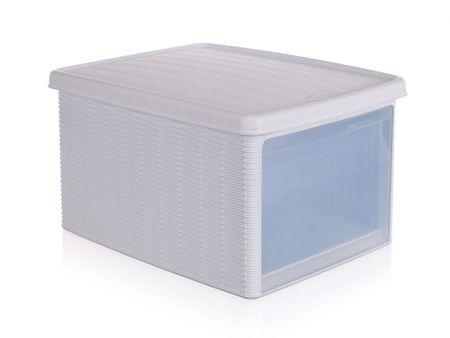 Stefanplast Multifunkční ratan box 15L bílá