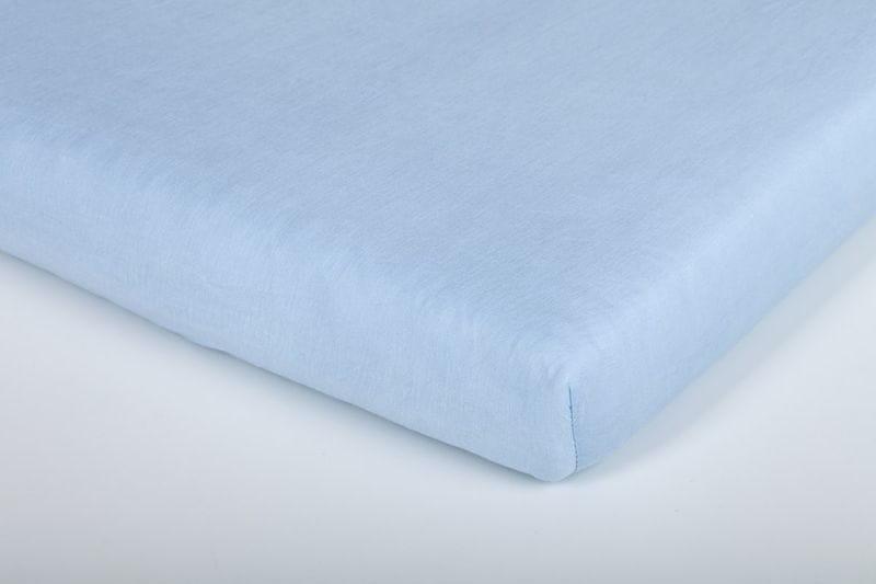 Träumeland Prostěradlo Tencel 40×90 cm, Hellblau