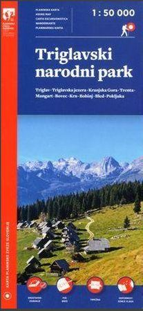 Triglavski narodni park 1 : 50.000 (plastificirano)