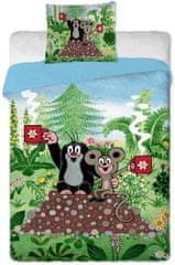 Jerry Fabrics Posteljina, 140 x 200 cm, krtica Little