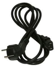 Samurai Power povezovalni IEC kabel 10A C13/šuko, 1,8 m